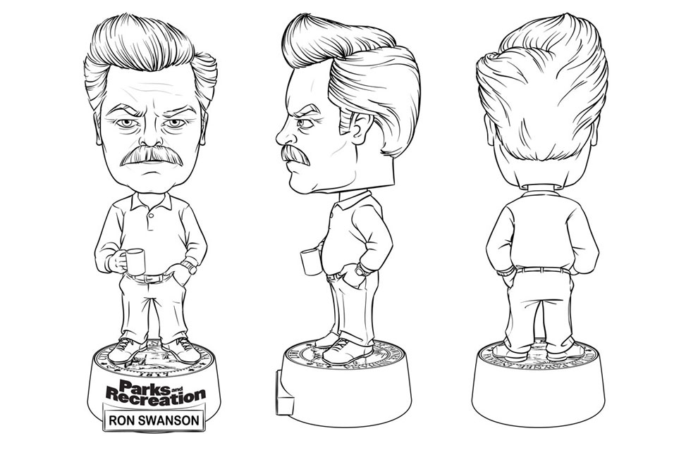RonSwanson-Turns-bw-small