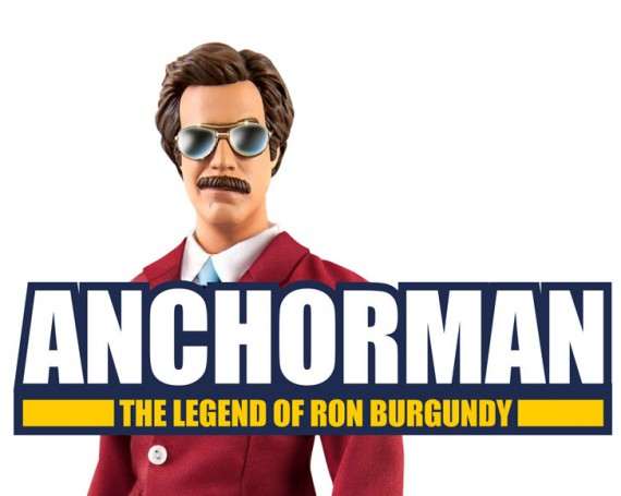 Anchorman Action Figure