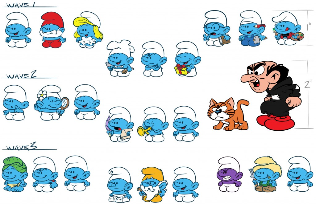 SMURFS-classicMinis-Eyes01