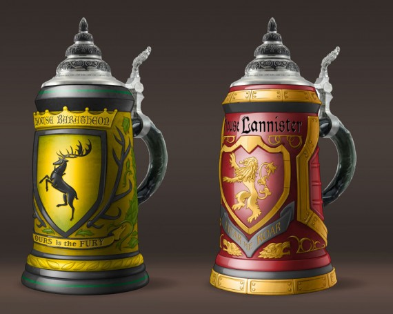 Game of Thrones Steins