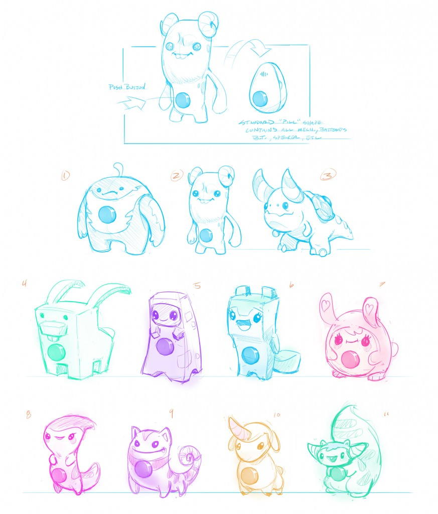 CuteMontsterPets-sketches02
